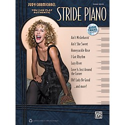 Alfred You Can Play Authentic Stride Piano by Judy Carmichael Book/CD (00-37254)