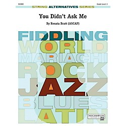 Alfred You Didn't Ask Me String Orchestra Grade 3 Set (00-42075)