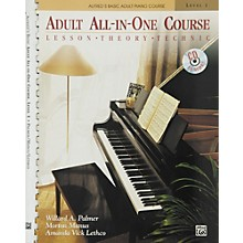 Alfred Alfred's Basic Adult All-in-One Course Book 1 Book 1 & CD