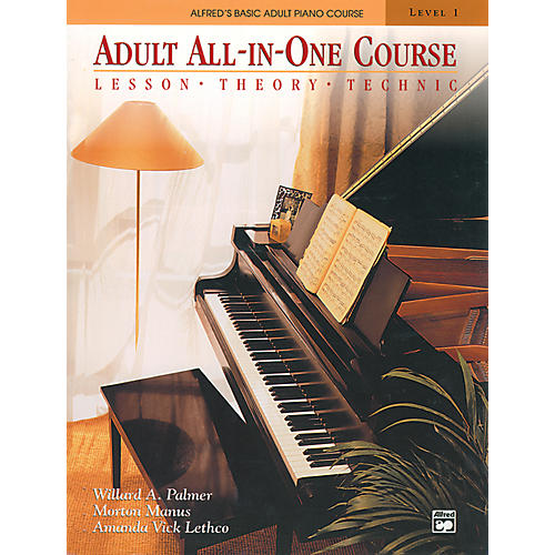Alfred Alfred's Basic Adult All-in-One Course Book 1