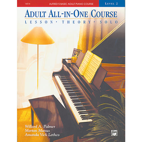 Alfred Alfred's Basic Adult All-in-One Course Book 2-thumbnail