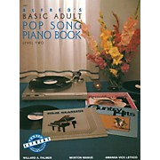 Alfred Alfred's Basic Adult Piano Course Pop Song Book 2