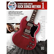 Alfred Alfred's Basic Guitar Rock Songs Method 1 Book, DVD & Online Audio, Video & Software