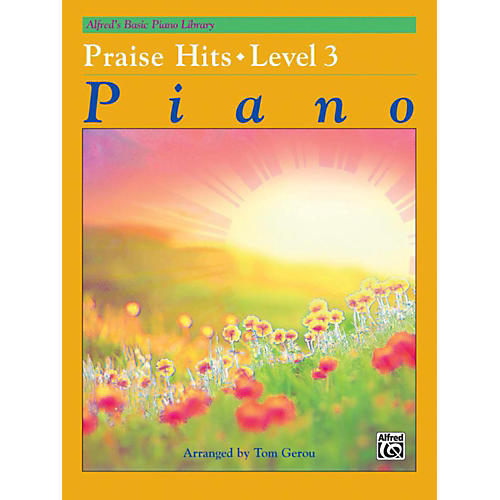 Alfred Alfred's Basic Piano Course Praise Hits Level 3 Book-thumbnail