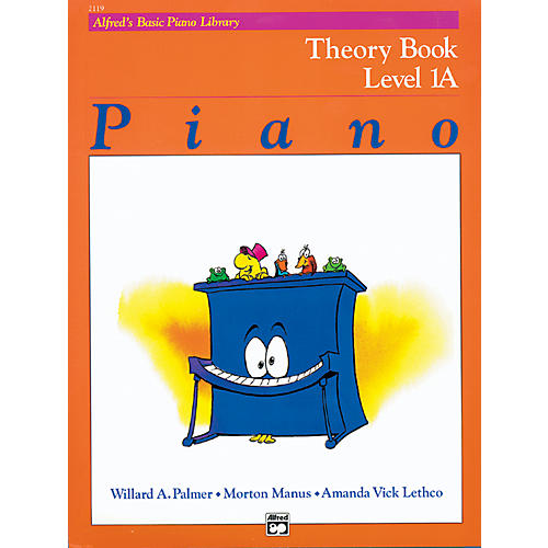 Alfred Alfred's Basic Piano Course Theory Book 1A-thumbnail