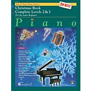 Alfred Alfred's Basic Piano Course Top Hits! Christmas Book Complete 2 & 3