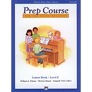 Alfred Alfred's Basic Piano Prep Course Lesson Book E