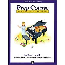 Alfred Alfred's Basic Piano Prep Course Solo Book E
