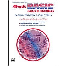 Alfred Alfred's Basic Solos and Ensembles Book 1 Trombone Baritone B.C. Bassoon
