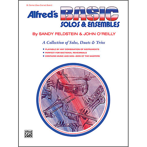 Alfred Alfred's Basic Solos and Ensembles Book 2 Clarinet (Bass Clarinet)-thumbnail