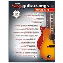 Alfred Alfred's Easy Guitar Songs: Movie Hits Easy Hits Guitar TAB Songbook
