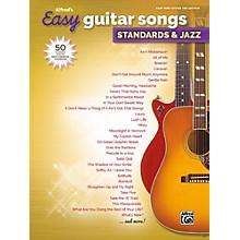 Alfred Alfred's Easy Guitar Songs: Standards & Jazz Easy Hits Guitar TAB Songbook