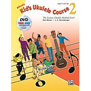 Alfred Alfred's Kid's Ukulele Course 2 Book DVD & Online Audio & Video