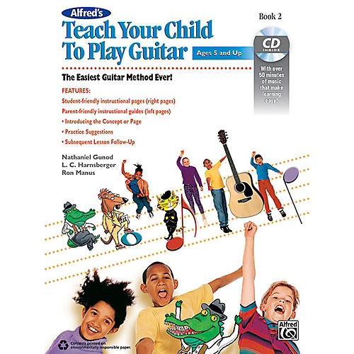 Alfred Alfred's Teach Your Child to Play Guitar Book 2 & CD-thumbnail