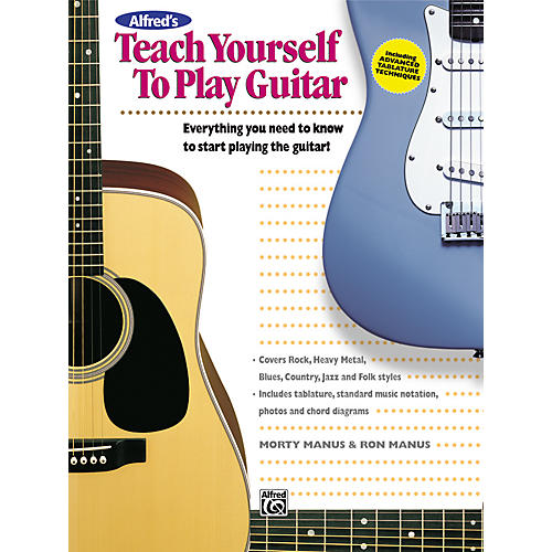 Alfred Alfred's Teach Yourself to Play Guitar-thumbnail