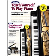 Alfred Alfred's Teach Yourself to Play Piano (Book/DVD)