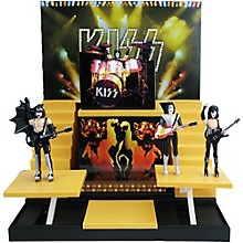 KISS Alive II Stage with 1:20 Scale Action Figures - Deluxe Box Set #1 - Convention Exclusive