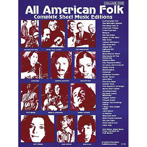 Creative Concepts All American Folk Songbook-thumbnail