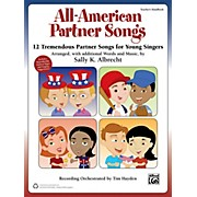 Alfred All-American Partner Songs Enhanced CD