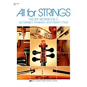 KJOS All For Strings 2 Theory Workbook String Bass