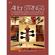 KJOS All For Strings 3 String Bass