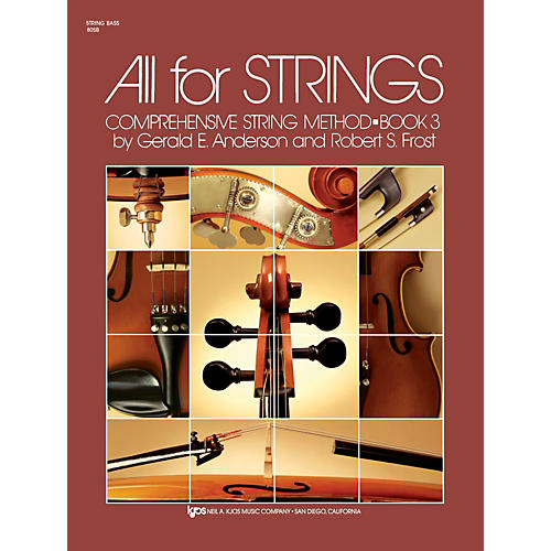 KJOS All For Strings 3 String Bass-thumbnail