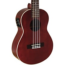 Lanikai All Mahogany 8-String Tenor Acoustic-Electric Ukulele