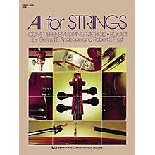 KJOS All for Strings 1 String Bass Book