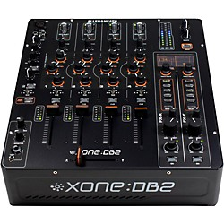 Allen & Heath Xone:DB2 4-Channel Digital DJ Mixer w/ Effects & MIDI (AH-XONE:DB2)