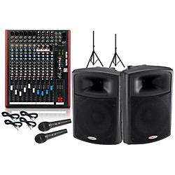 Allen & Heath ZED-14 / Harbinger APS15 PA Package (KIT883750)