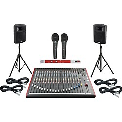 Allen & Heath ZED-22FX / Harbinger APS15 PA System with BBE 382i (ZED22FXAPS15382i)