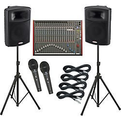 Allen & Heath ZED-24 / Harbinger APS15 PA Package (KIT883747)