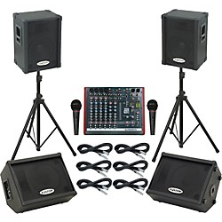 Allen & Heath ZED10 / KPC12P Mains & Monitors Package (ZED10KPC12PMM)