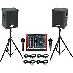 Allen & Heath ZED10 / KPC12P PA Package (ZED10KPC12P)