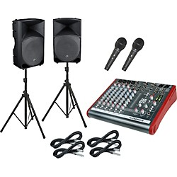 Allen & Heath ZED10 / Thump TH-15A PA Package (ZED10TH15A)