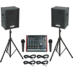 Allen & Heath ZED10FX / KPC15P PA Package (ZED10FXKPC15P)