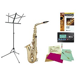 Allora AAAS-301 Beginner Student Alto Saxophone Bundle (AS301-123 Kit)