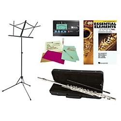 Allora AAFL-229 Beginner Student Flute Bundle (FL229-123 Kit)