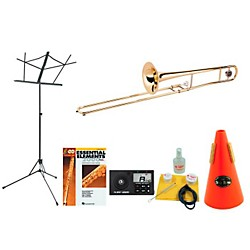 Allora AATB-102 Beginner Student Trombone Bundle (TB102-123 Kit)