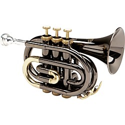 Allora MXPT-5801-BK Black Nickel Series Pocket Trumpet (MXPT-5801-BK)