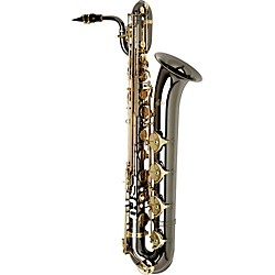 Allora Paris Series Professional Black Nickel Baritone Saxophone (TWT-800BLE/A)