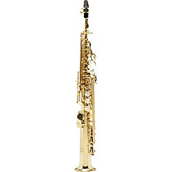 Allora Vienna Series Intermediate Straight Soprano Saxophone with Two Necks (VCH-246L/SB)