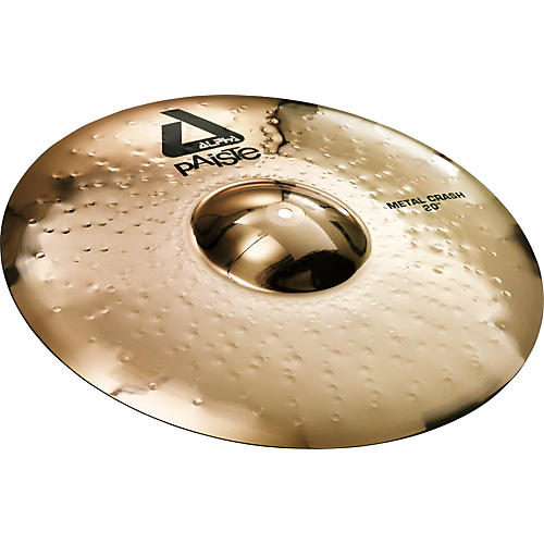 Paiste Alpha Metal Crash Cymbal with Brilliant Finish 17 in.