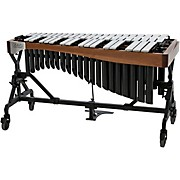 Adams Alpha Series 3.0 Octave Vibraphone, Silver Bars Motor Traveler Frame Walnut Rails