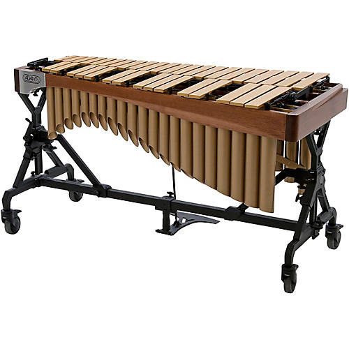 Adams Alpha Series 3.0 Octave Vibraphone, Silver Bars Motor Traveler Frame Walnut Rails-thumbnail