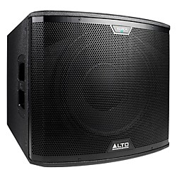 "Alto Black 15"" Active Subwoofer 2400W (BLACK 15S)"