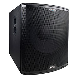 "Alto Black 18"" Active Subwoofer 2400W (BLACK 18S)"
