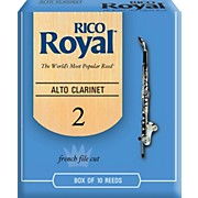 Rico Royal Alto Clarinet Reeds, Box of 10