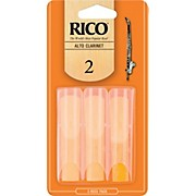 Rico Alto Clarinet Reeds, Box of 3