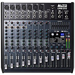 Alto LIVE 1202 12-Channel 2-Bus Mixer (LIVE1202XUS)